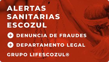 LifEscozul® Alertas sanitarias Escozul®