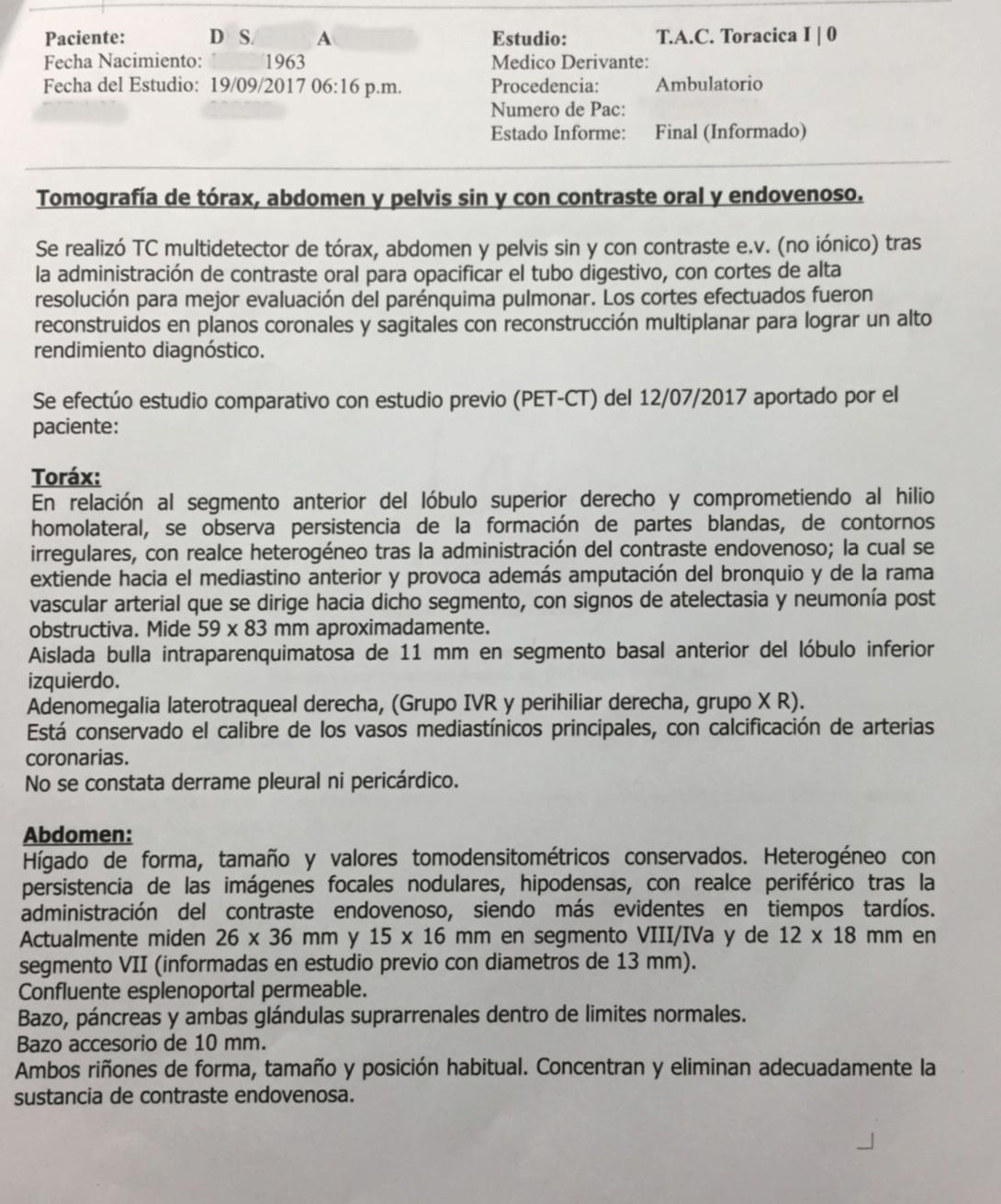 LifEscozul® - A.D.S. 7 - Cáncer de Pulmon