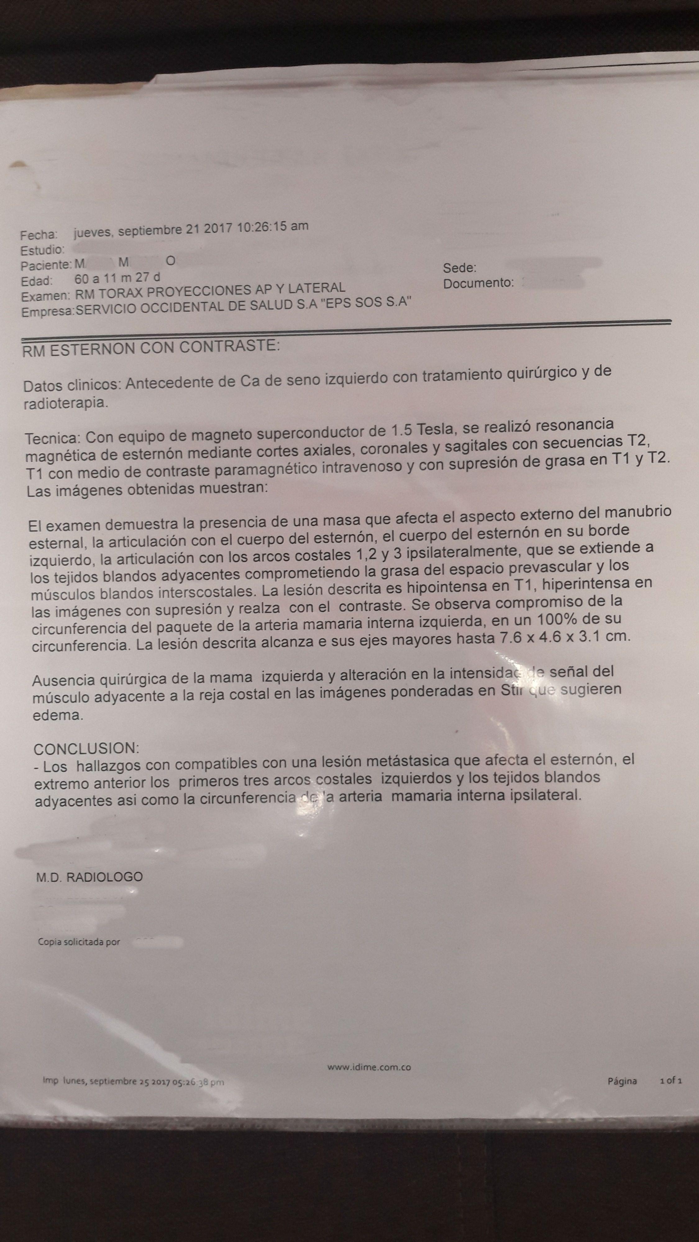 LifEscozul® - M.M.O. 3 - Cáncer de Mámas