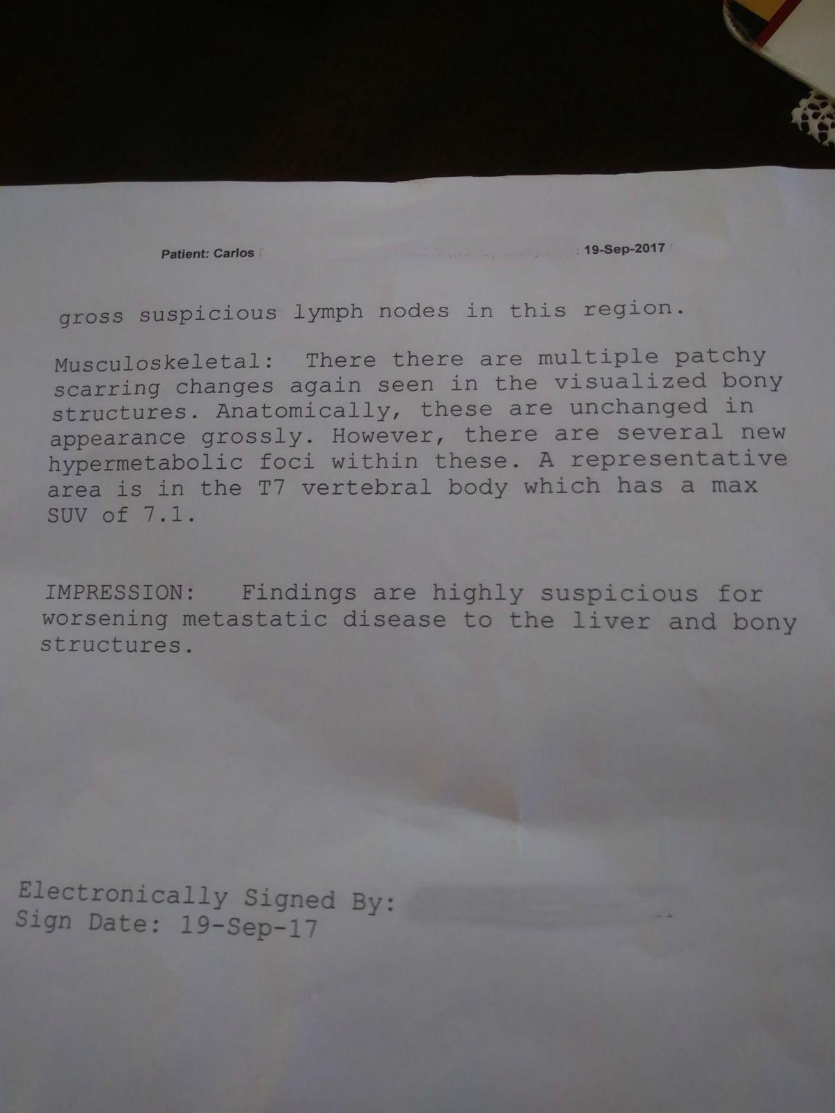 LifEscozul® - Carlos 8 - Cáncer de Pulmon