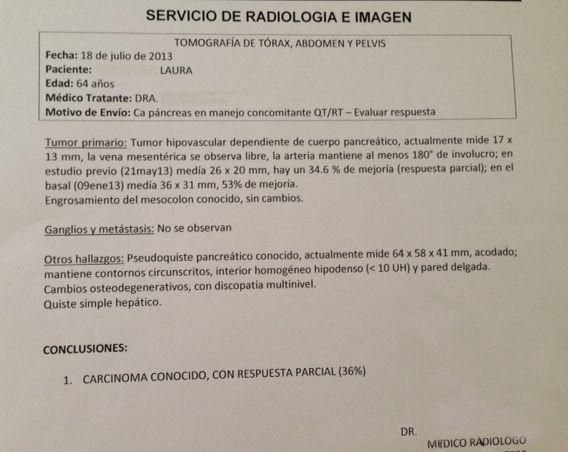 LifEscozul® - Laura 17 - Cáncer de Páncreas
