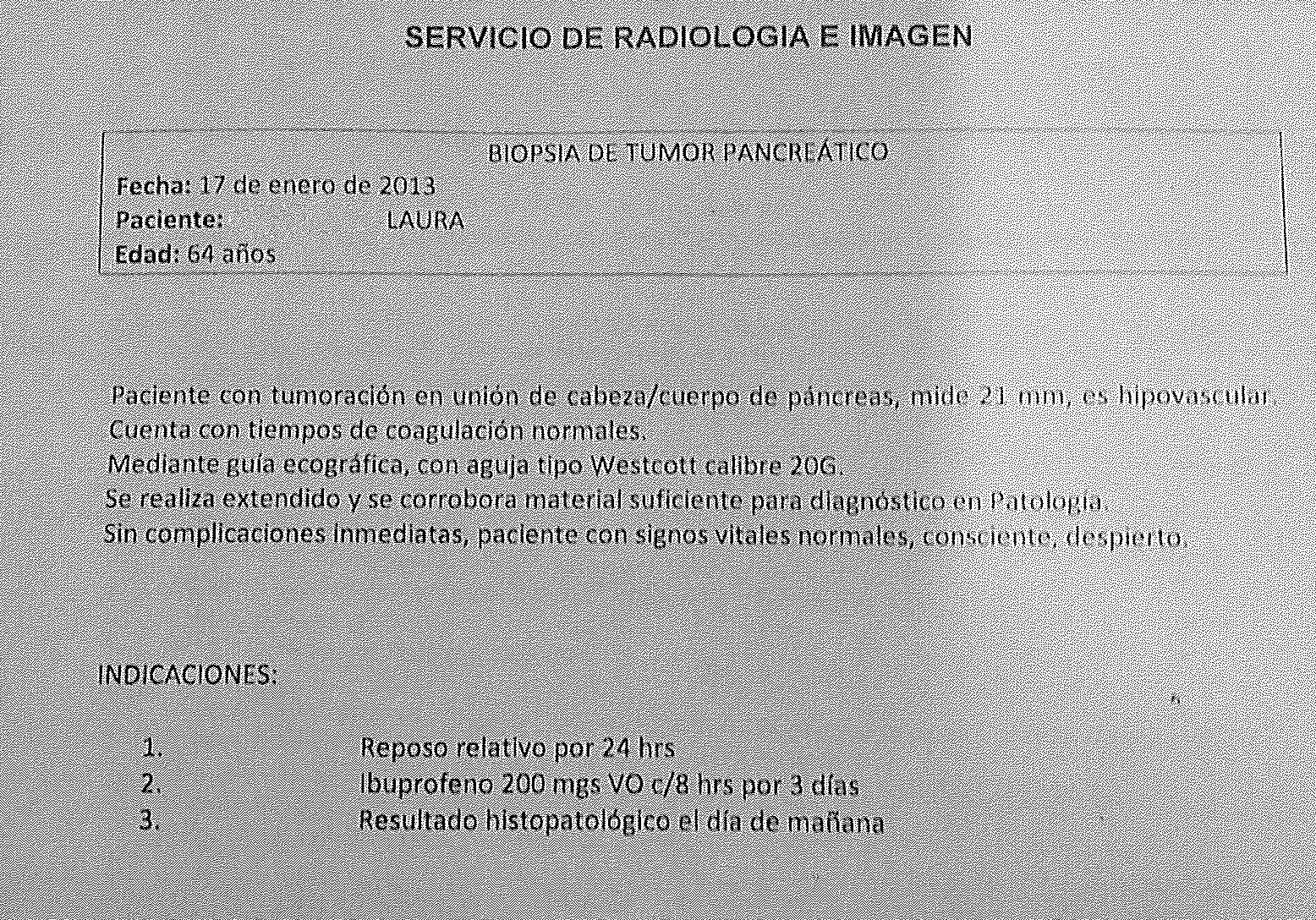 LifEscozul® - Laura 8 - Cáncer de Páncreas