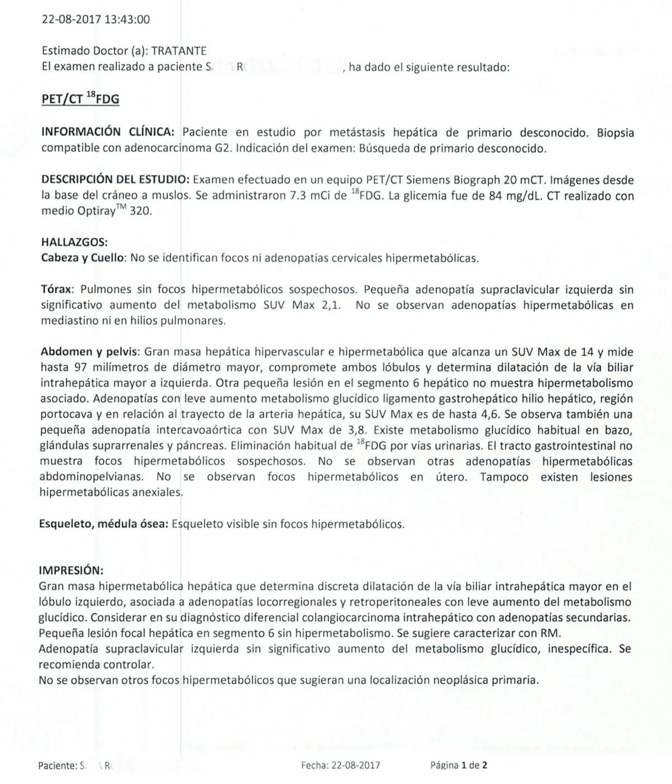 LifEscozul® - S.R. 3 - Cáncer de Hígado