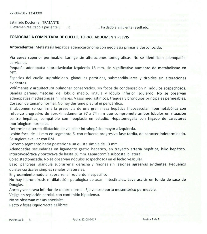 LifEscozul® - S.R. 5 - Cáncer de Hígado