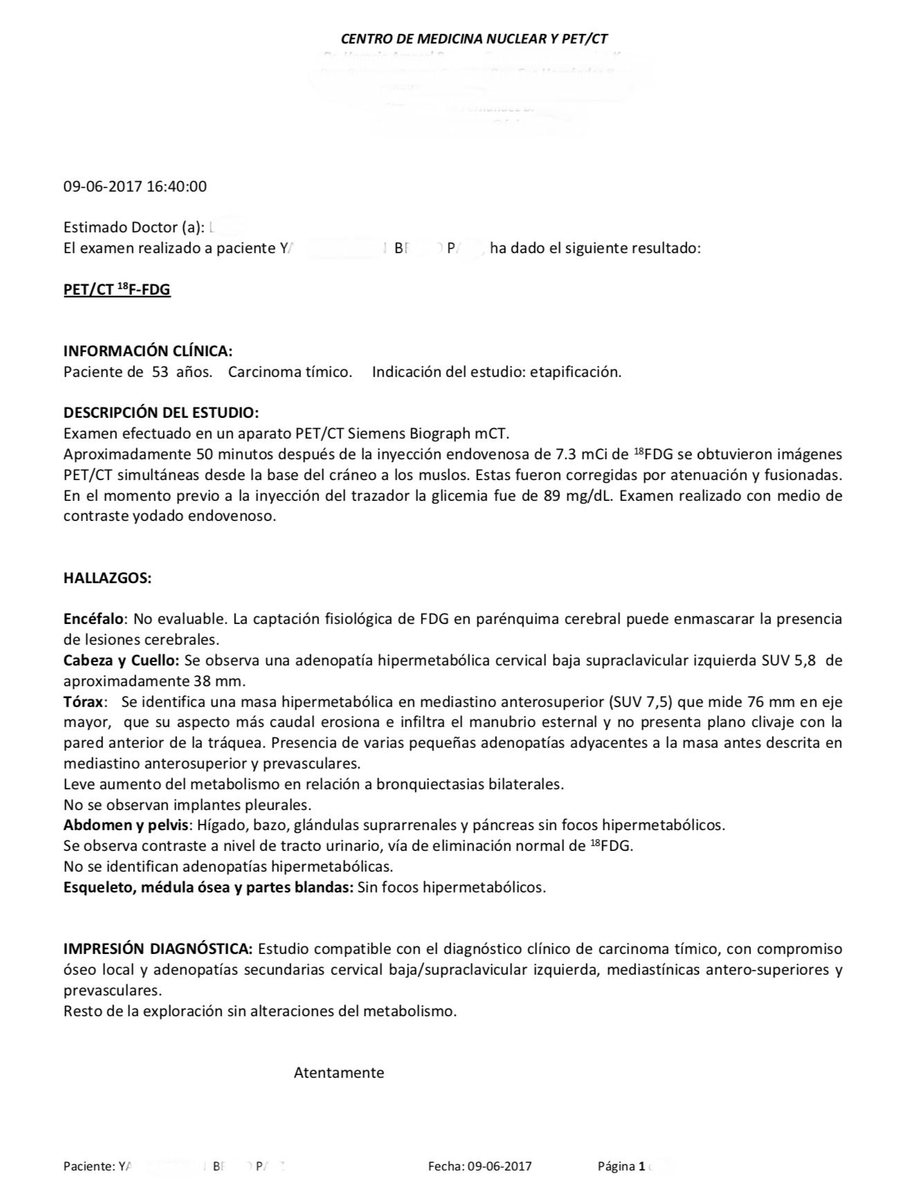 LifEscozul® - Y.B.P. - Cáncer de Timo