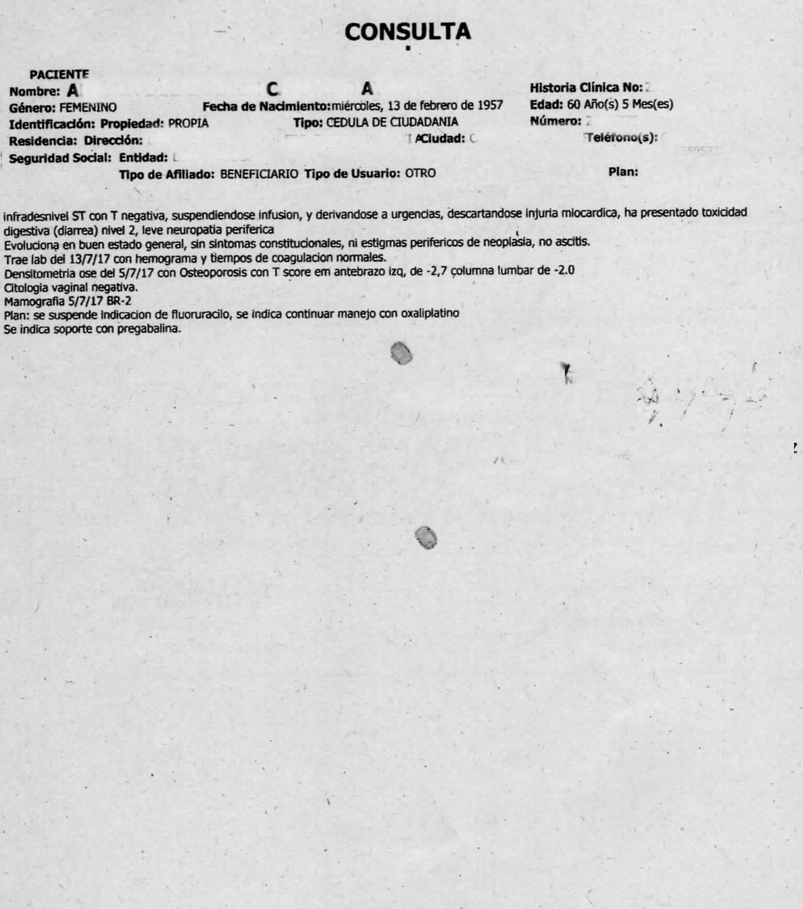 LifEscozul® - A.C.A. 4 - Cáncer de Cólon