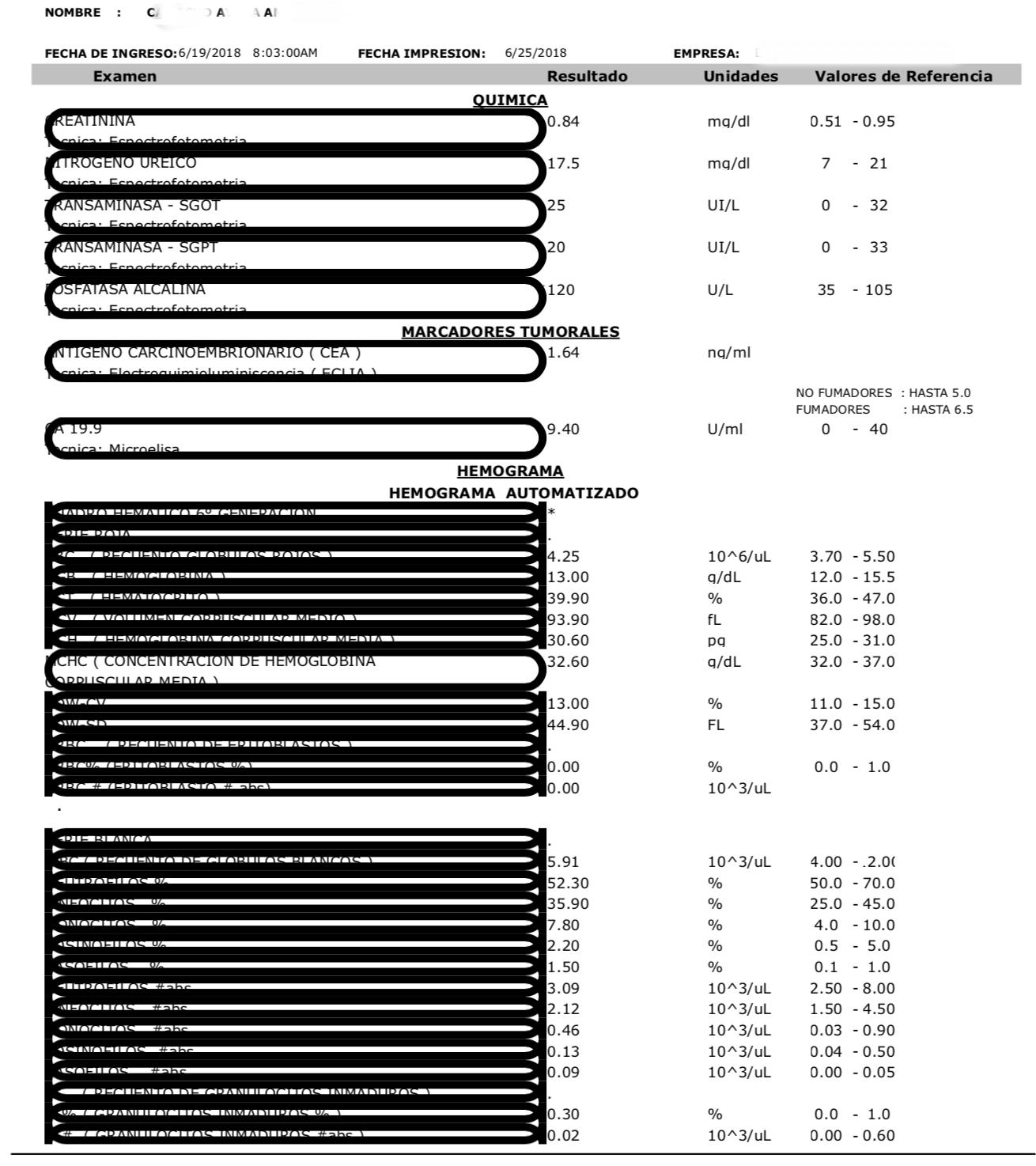 LifEscozul® - A.C.A. 5 - Cáncer de Cólon