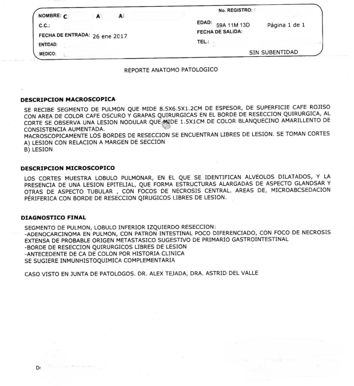 LifEscozul® - A.C.A. 7 - Cáncer de Cólon