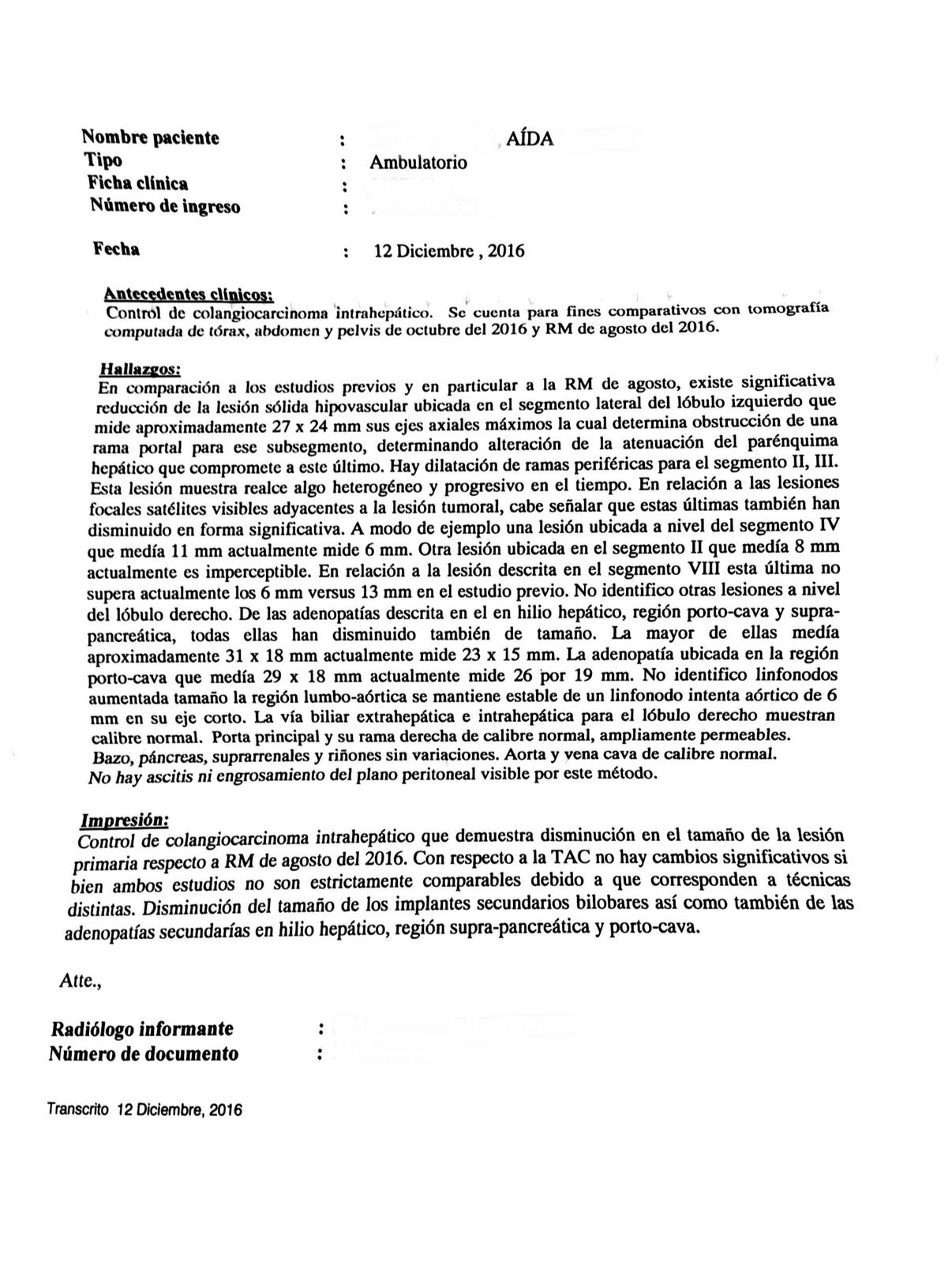 LifEscozul® - Aida 3 - Cáncer de Hígado