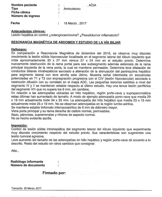 LifEscozul® - Aida 6 - Cáncer de Hígado