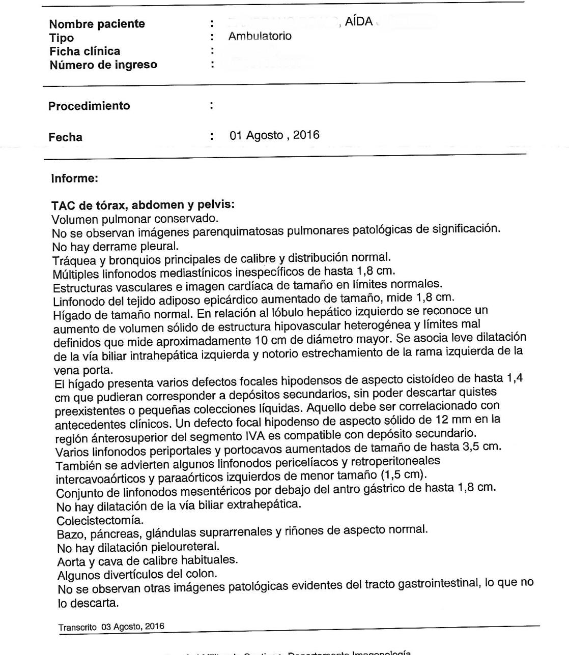 LifEscozul® - Aida 8 - Cáncer de Hígado