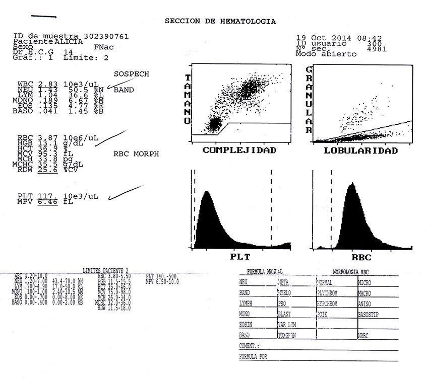 LifEscozul® - Alicia 5 - Cáncer Gástrico Intestinal