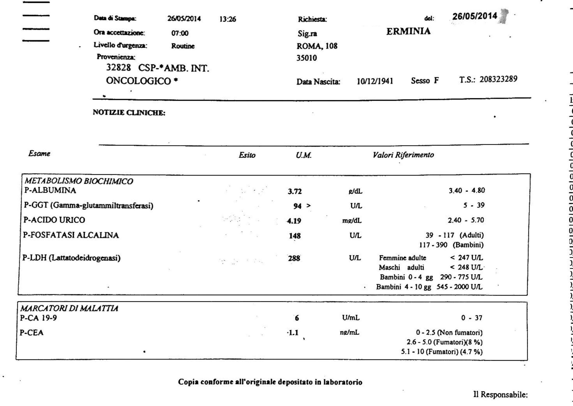LifEscozul® - Erminia 5 - Cáncer Gástrico Intestinal