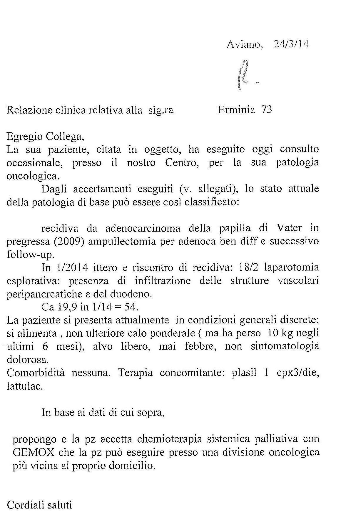 LifEscozul® - Erminia 6 - Cáncer Gástrico Intestinal