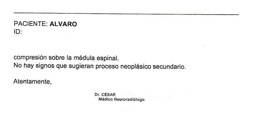 LifEscozul® - Alvaro 8 - Cáncer Cerebral
