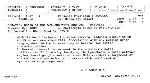 LifEscozul® - Isabella 12 - Cáncer Cerebral