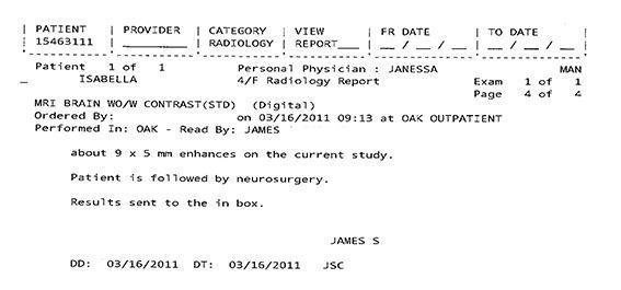 LifEscozul® - Isabella 4 - Cáncer Cerebral