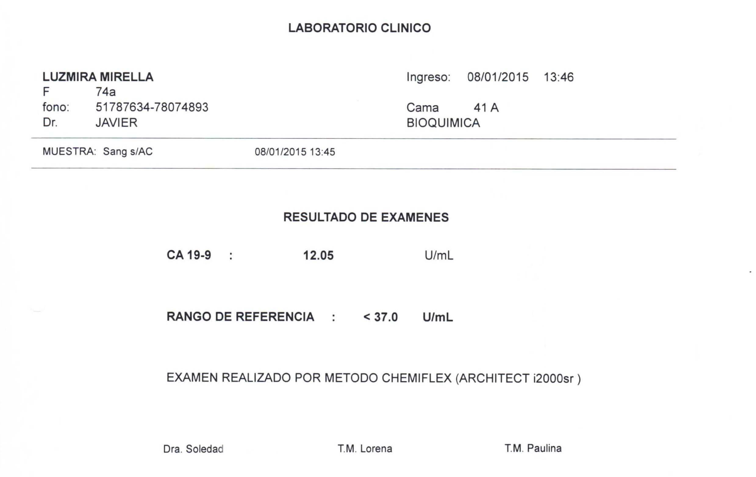 LifEscozul® - Luzmira 10 - Cáncer Gástrico Intestinal