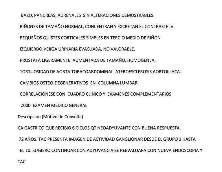LifEscozul® - Vicente 10 - Cáncer Gástrico Intestinal