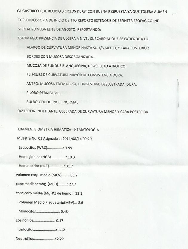 LifEscozul® - Vicente 5 - Cáncer Gástrico Intestinal