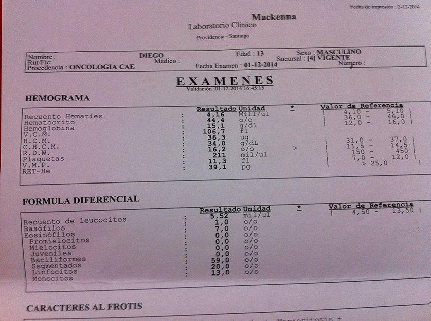 LifEscozul® - Diego 1 - Leucemia