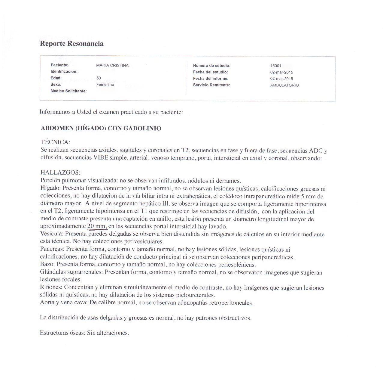 LifEscozul® - María Cristina 6 - Cáncer de Mámas