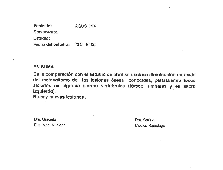 LifEscozul® - Agustina 13 - Cáncer de Mámas
