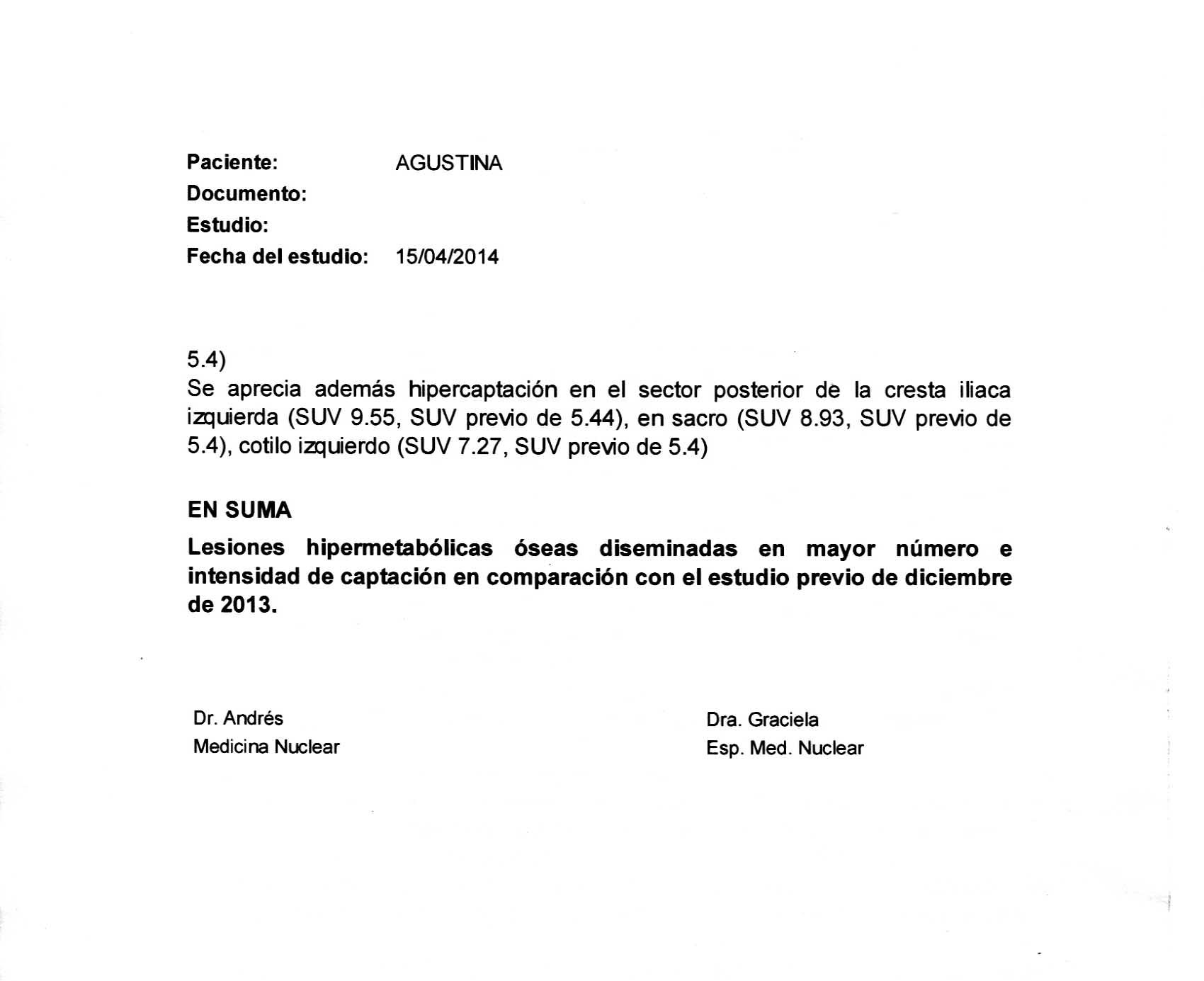 LifEscozul® - Agustina 9 - Cáncer de Mámas