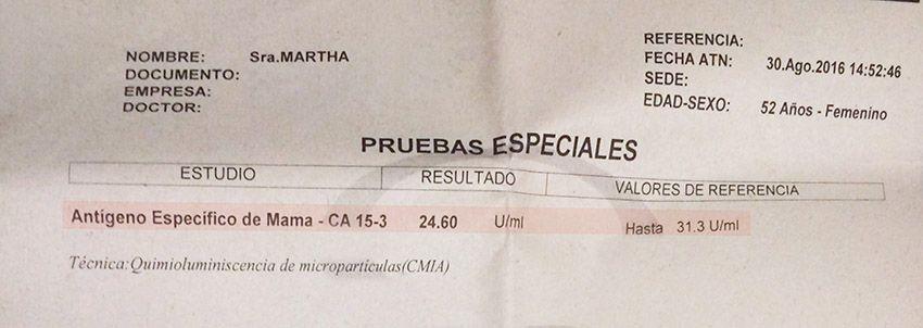 LifEscozul® - Martha 5 - Cáncer de Mámas