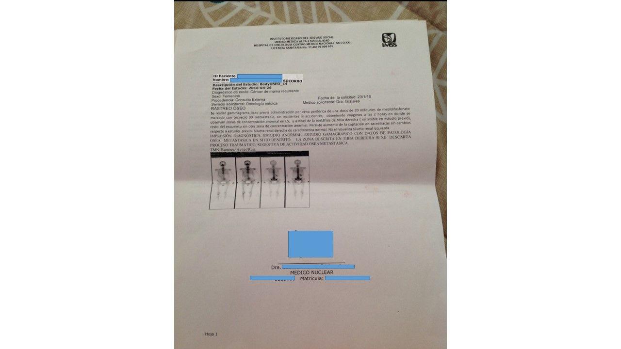 LifEscozul® - Socorro 1 - Cáncer de Mámas