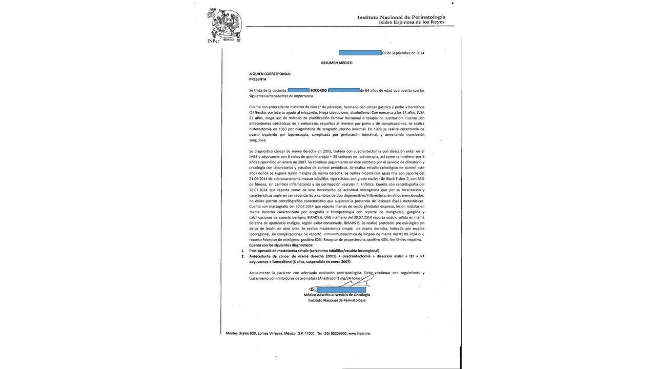 LifEscozul® - Socorro 5 - Cáncer de Mámas