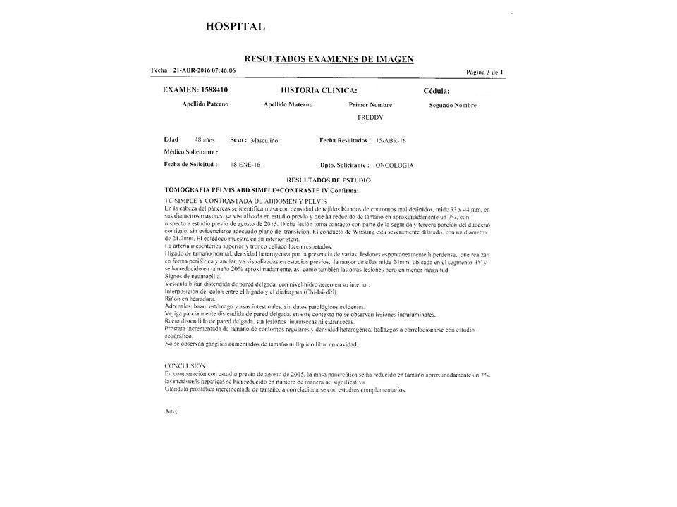LifEscozul® - Freddy 1 - Cáncer de Páncreas