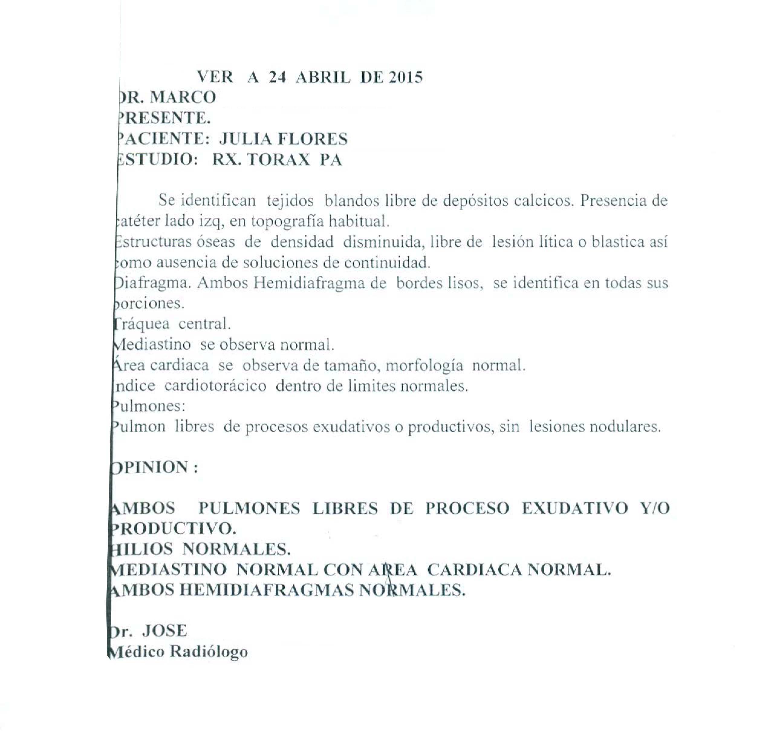 LifEscozul® - Julia 2 - Cáncer de Ovarios