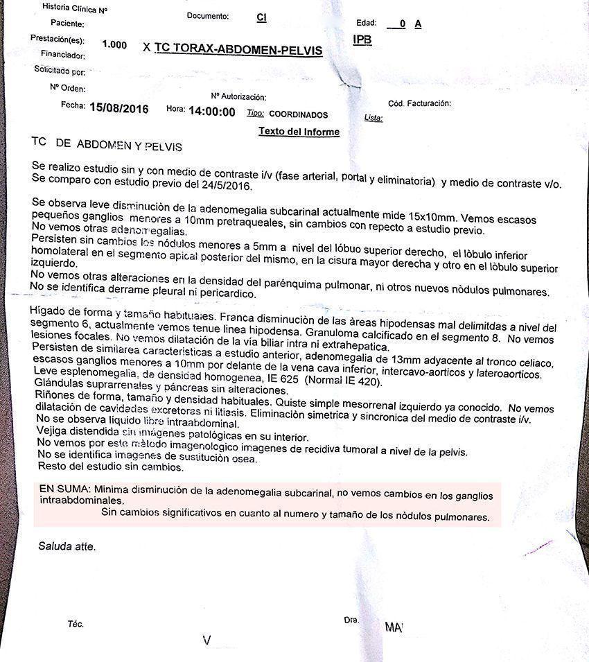 LifEscozul® - Irma 1 - Cáncer Metastático Primario Desconocido