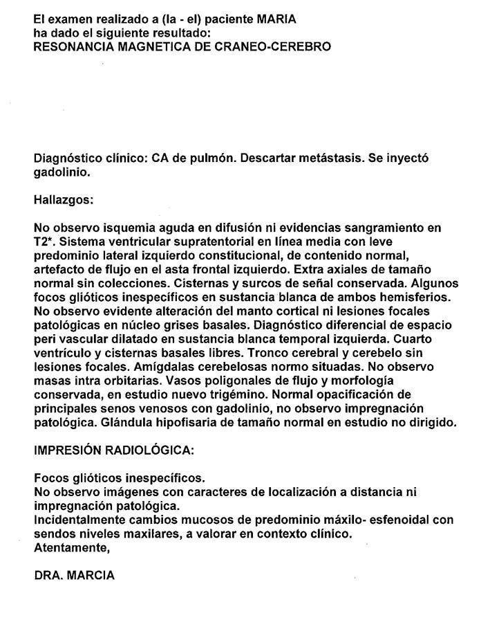 LifEscozul® - María 12 - Cáncer de Pulmon