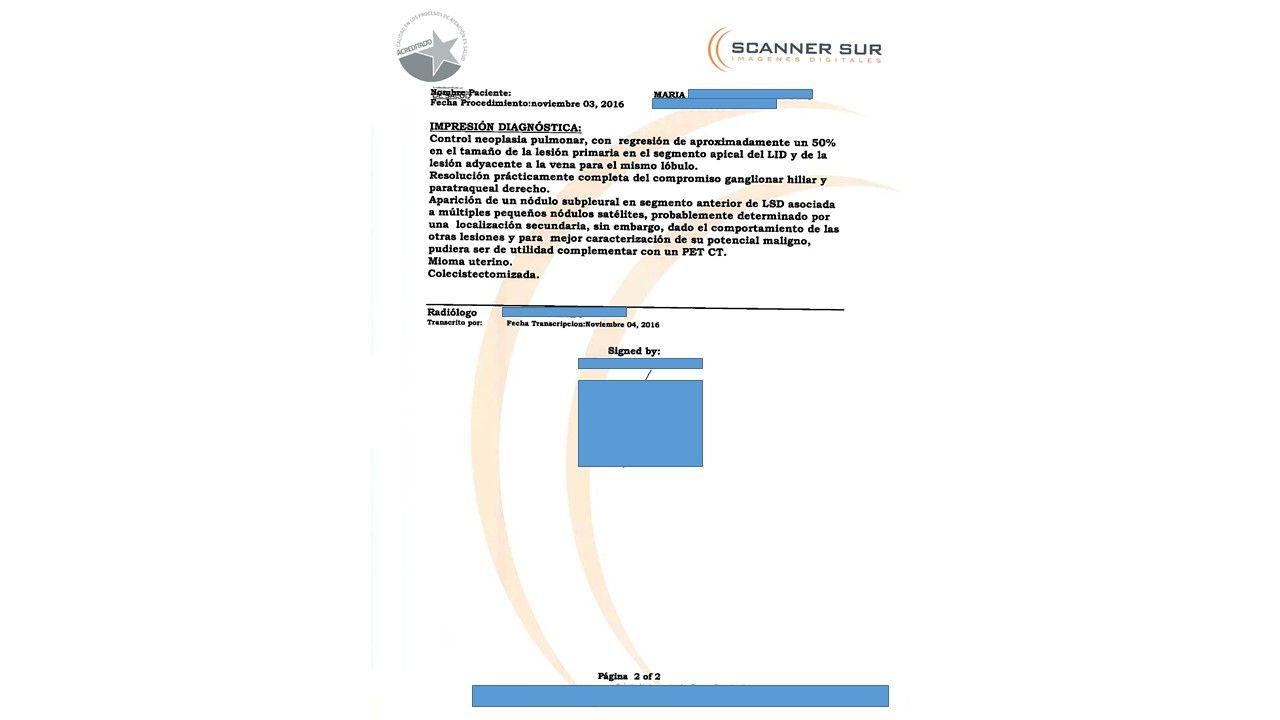 LifEscozul® - María 13 - Cáncer de Pulmon