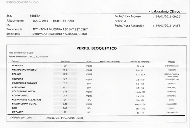 LifEscozul® - Teresa 5 - Cáncer de Pulmon