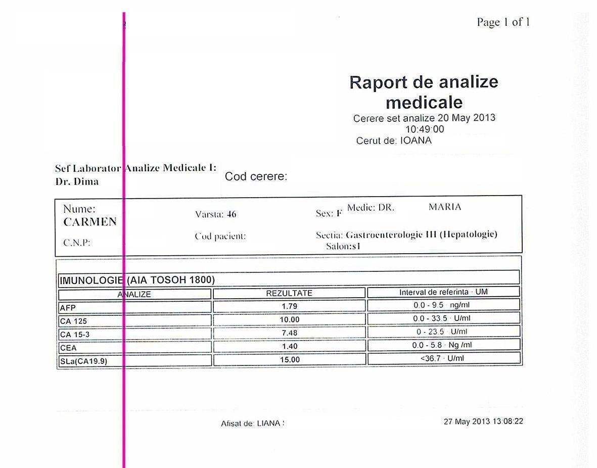 LifEscozul® - Carmen 7 - Cáncer de Hígado