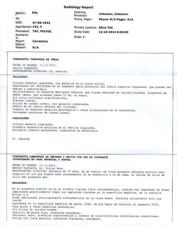 LifEscozul® - Elsa 2 - Cáncer de Útero y Cervix