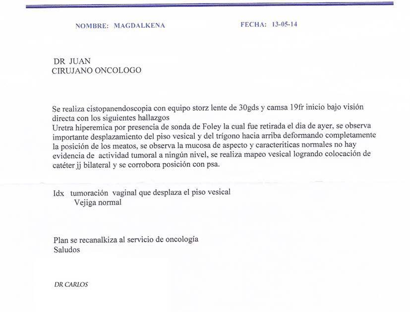 LifEscozul® - Magdalena 2 - Cáncer de Útero y Cervix