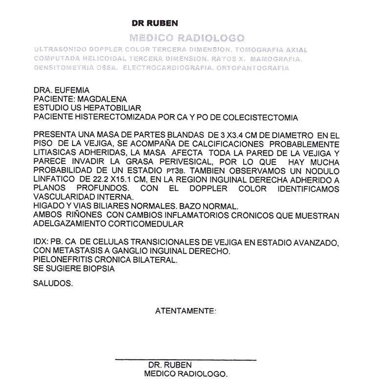 LifEscozul® - Magdalena 5 - Cáncer de Útero y Cervix