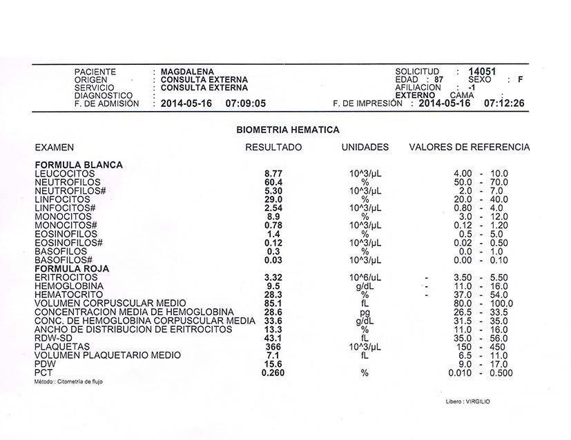 LifEscozul® - Magdalena 6 - Cáncer de Útero y Cervix