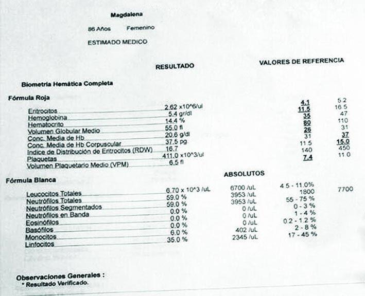 LifEscozul® - Magdalena 7 - Cáncer de Útero y Cervix