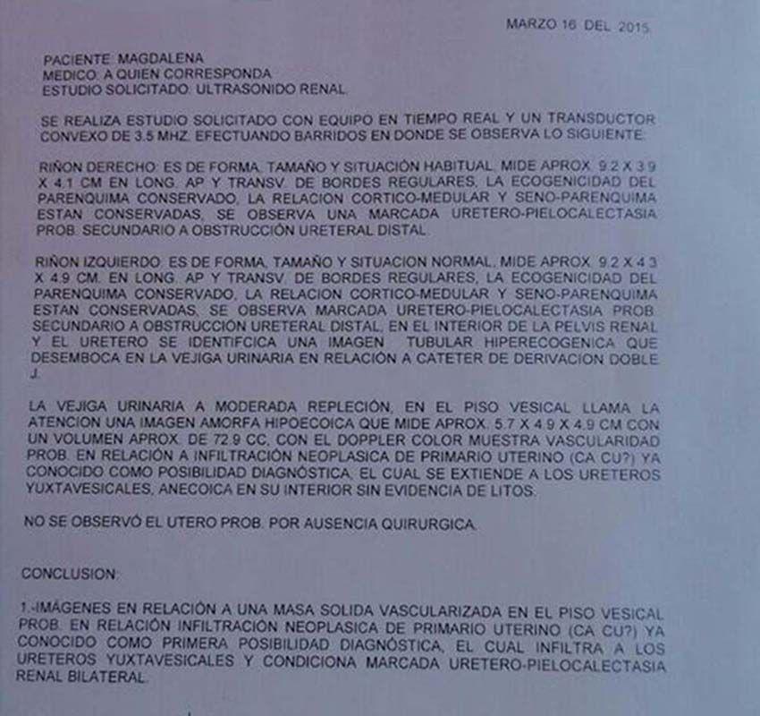 LifEscozul® - Magdalena 8 - Cáncer de Útero y Cervix