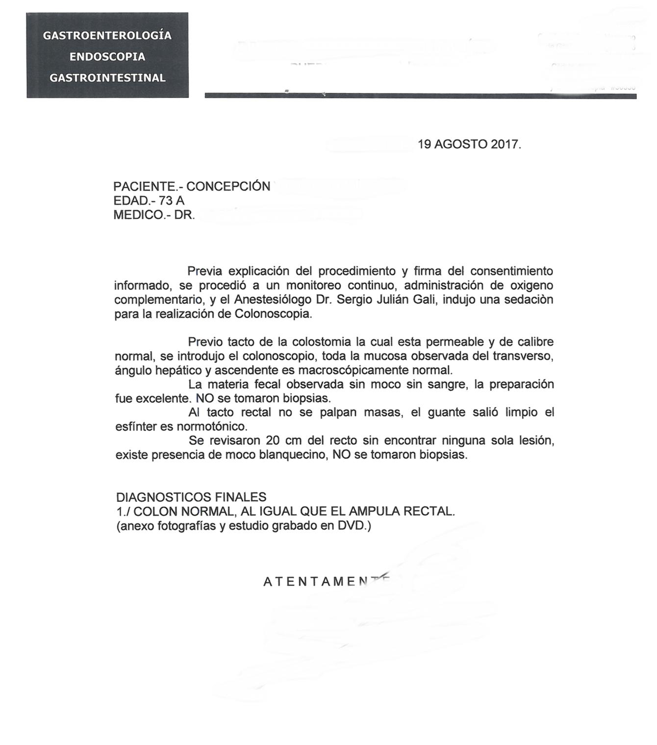 LifEscozul® - Concepción 1 - Cáncer de Cólon