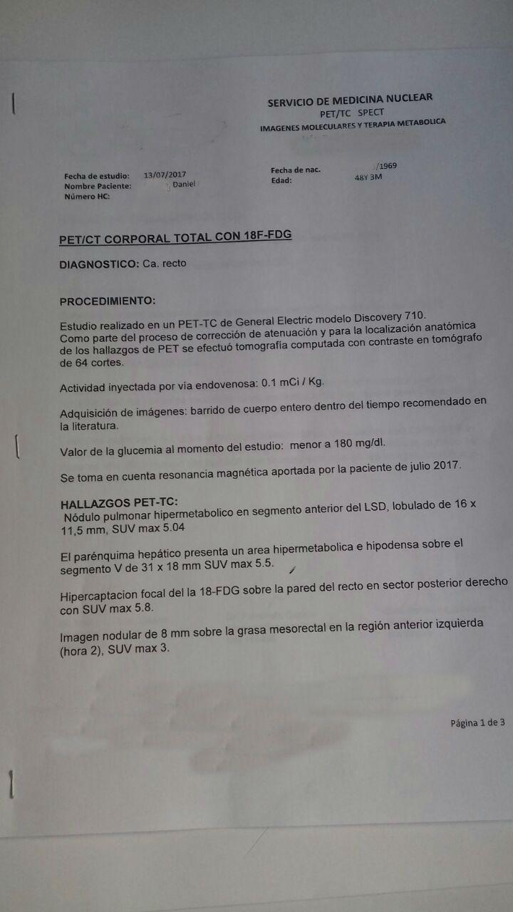 LifEscozul® - Daniel 2 - Cáncer de Cólon