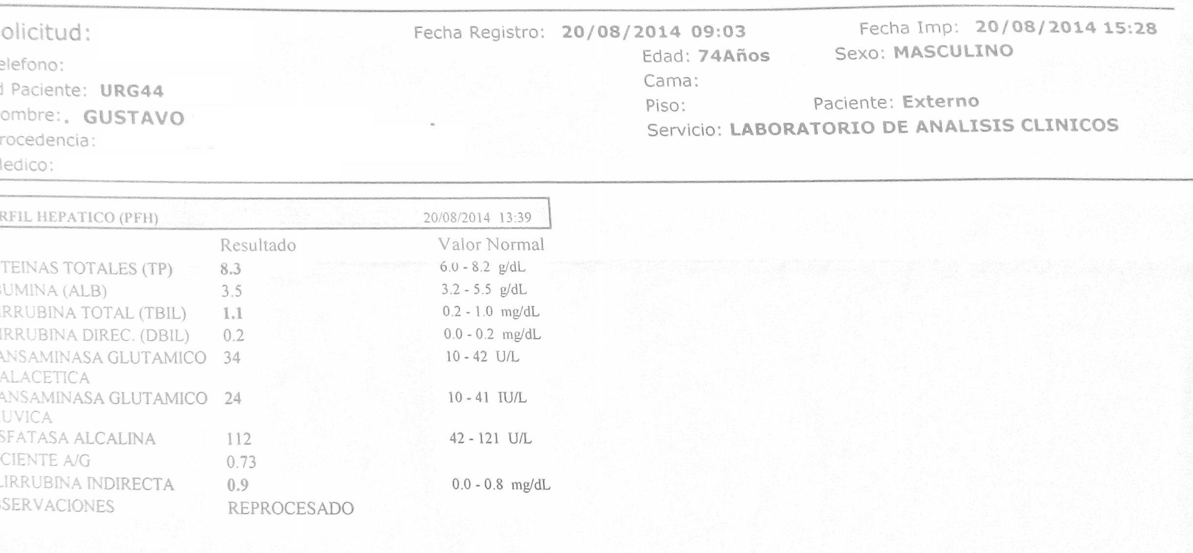 LifEscozul® - Gustavo 5 - Cáncer de Páncreas