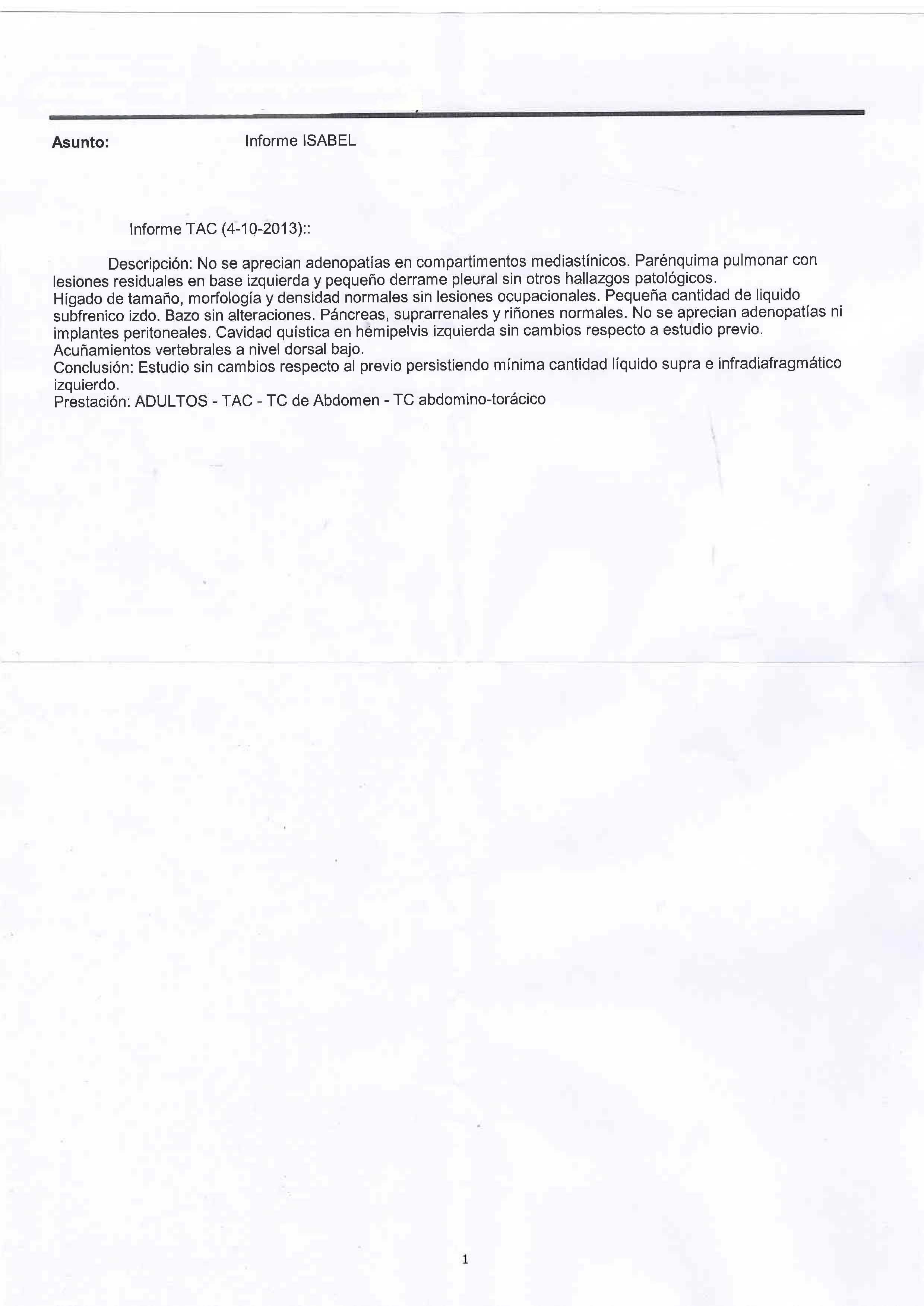 LifEscozul® - Isabel 4 - Cáncer de Ovarios