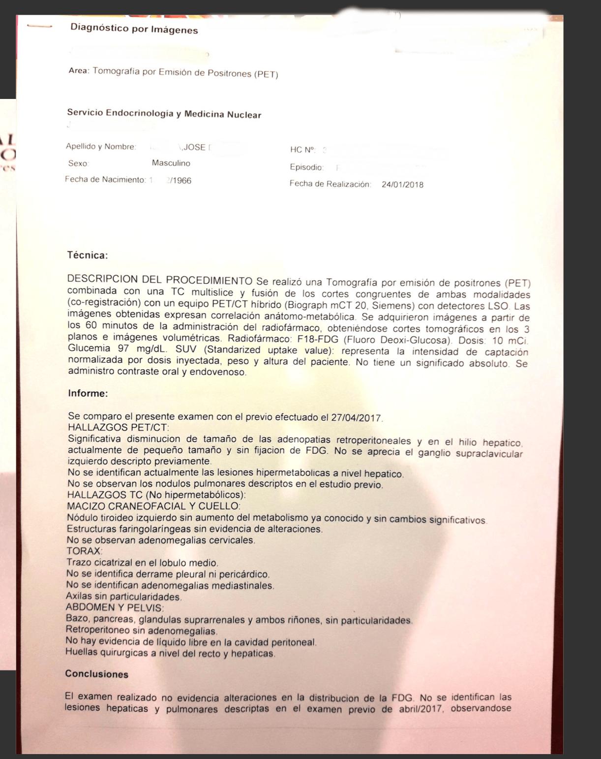LifEscozul® - José 3 - Cáncer de Cólon