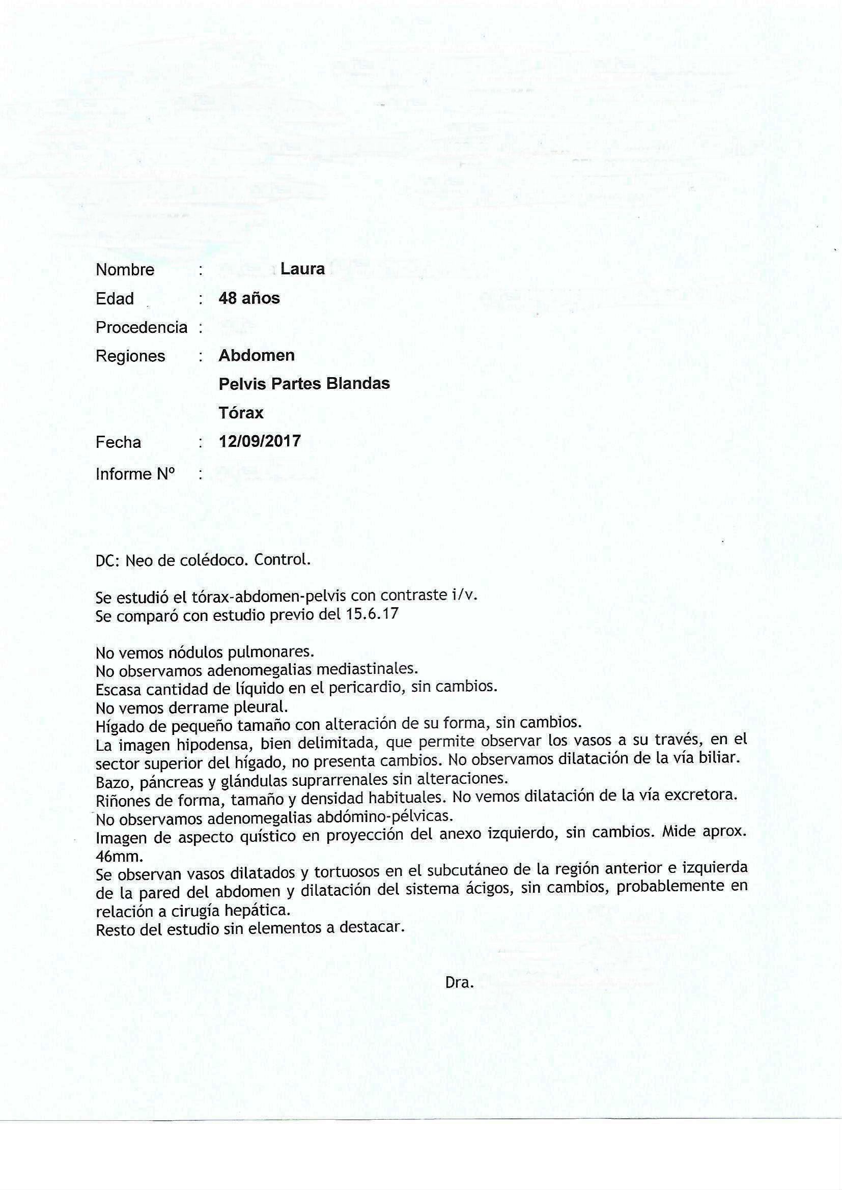 LifEscozul® - Laura 2 - Cáncer de Hígado